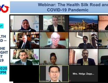 Webinar on Health Silk Road