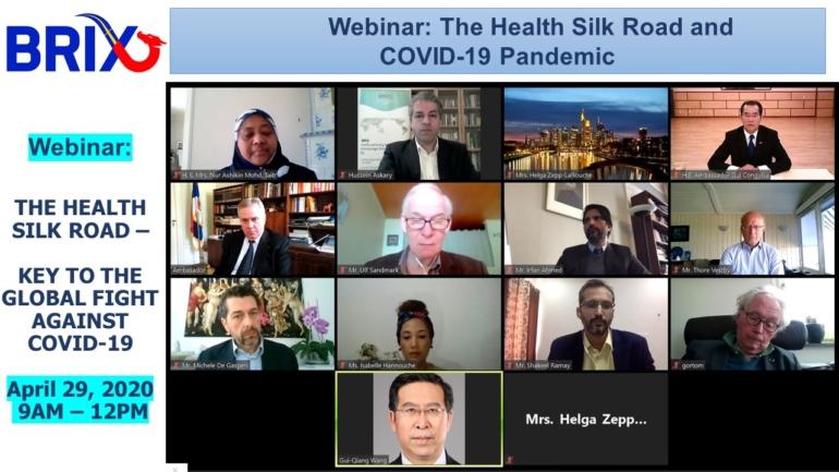 Webinar on Health Silk Road