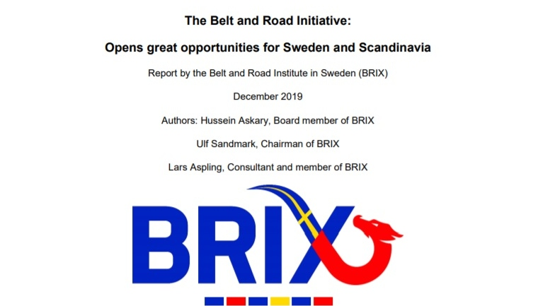 BRIX produced Belt and Road Initiative Report